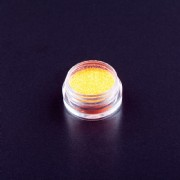 Glitter Puder Fein Neon Orange