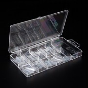 100 Stk Stiletto Tips Clear incl. Box